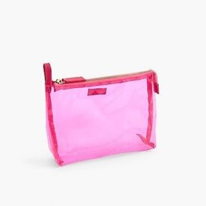 JUST IN! J. Crew Clear Makeup Pouch